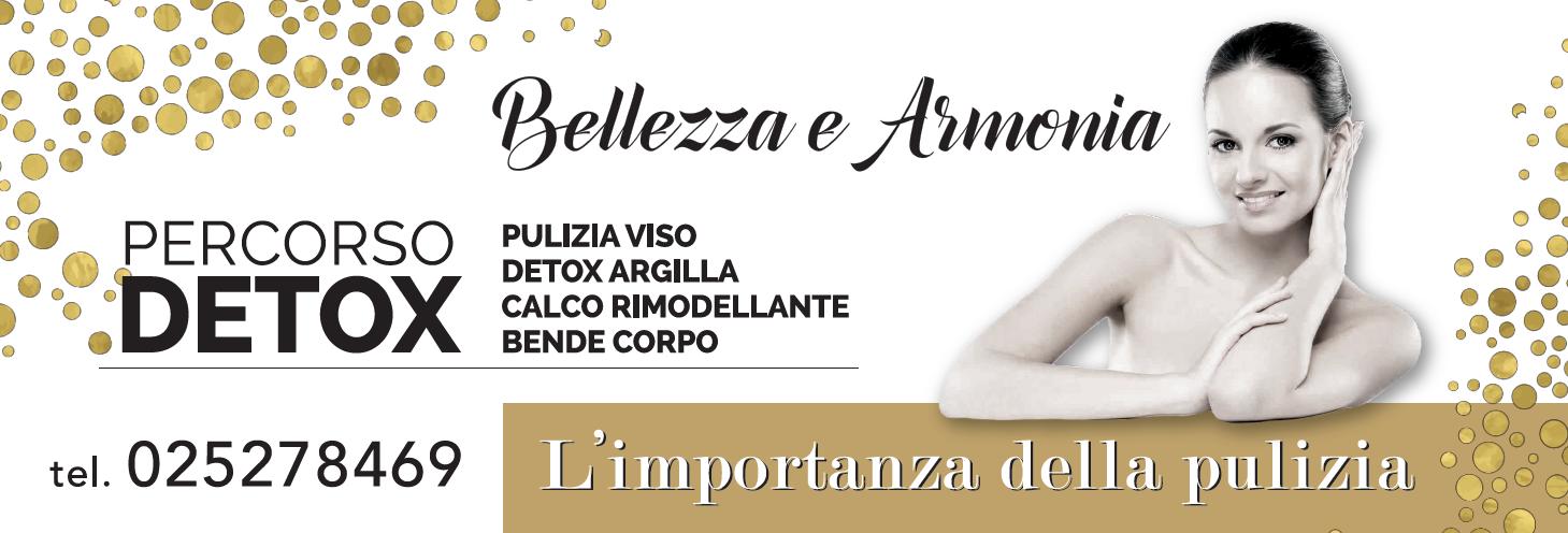 Promozione percorso detox - Bellezza e Armonia - Centro Estetico Olistico - Milano